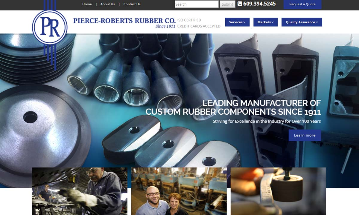 Pierce-Roberts Rubber Co.