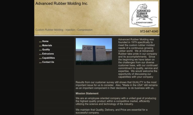 Advanced Rubber Molding Inc.