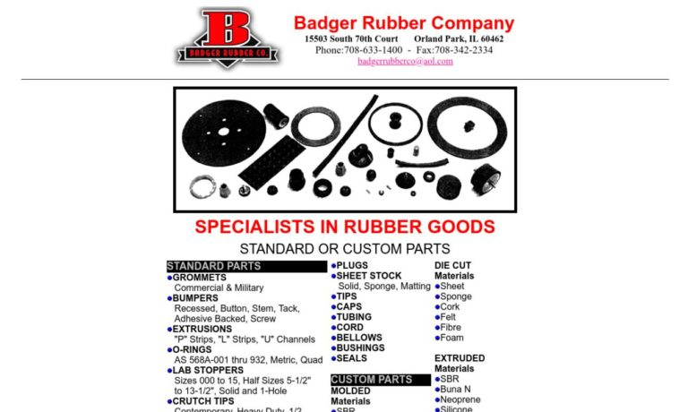 Badger Rubber Company