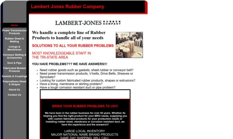 Lambert Jones Rubber Co.