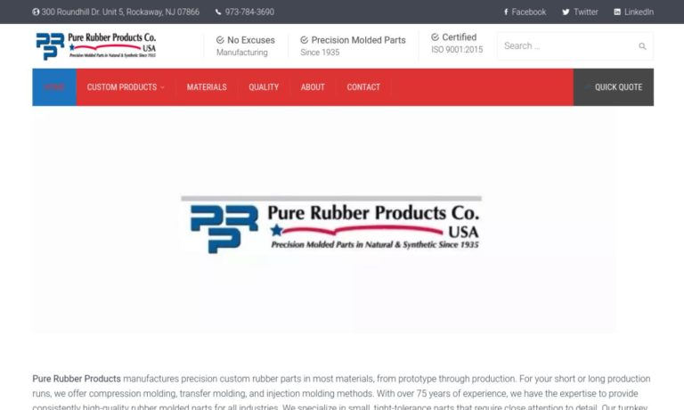Pure Rubber Products Co.
